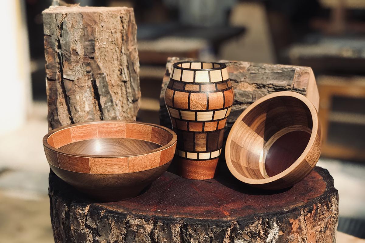 squarerooms woodworking workshop tombalek bowl turning