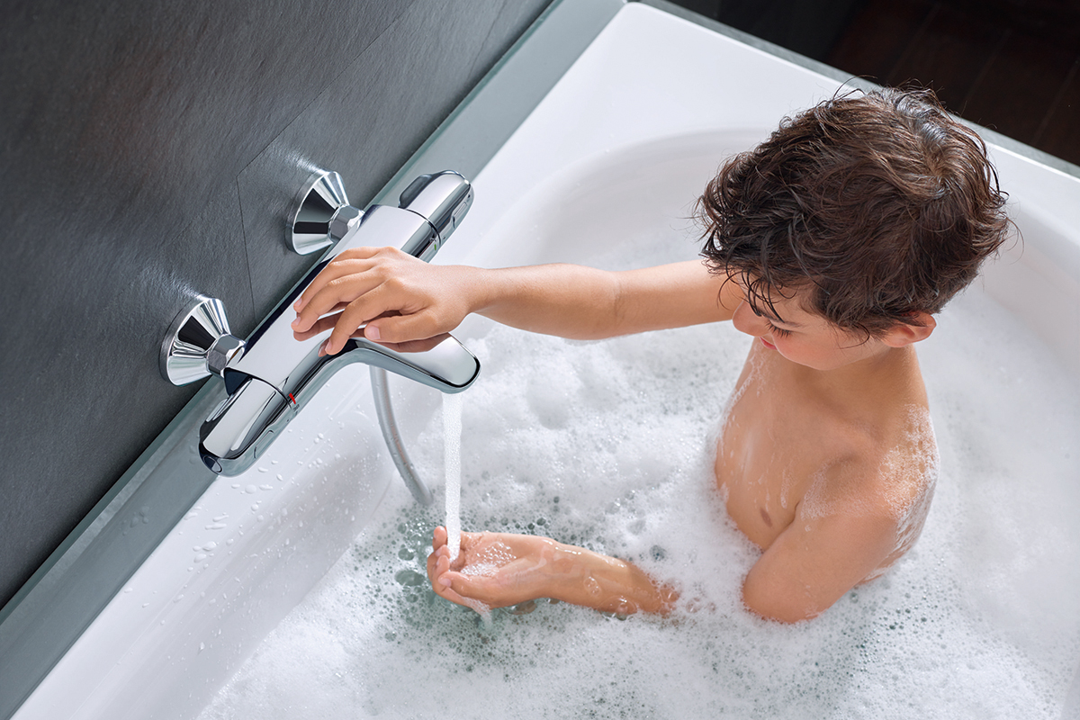 squarerooms grohe bathroom fittings luxury shower faucet tap bathtub child