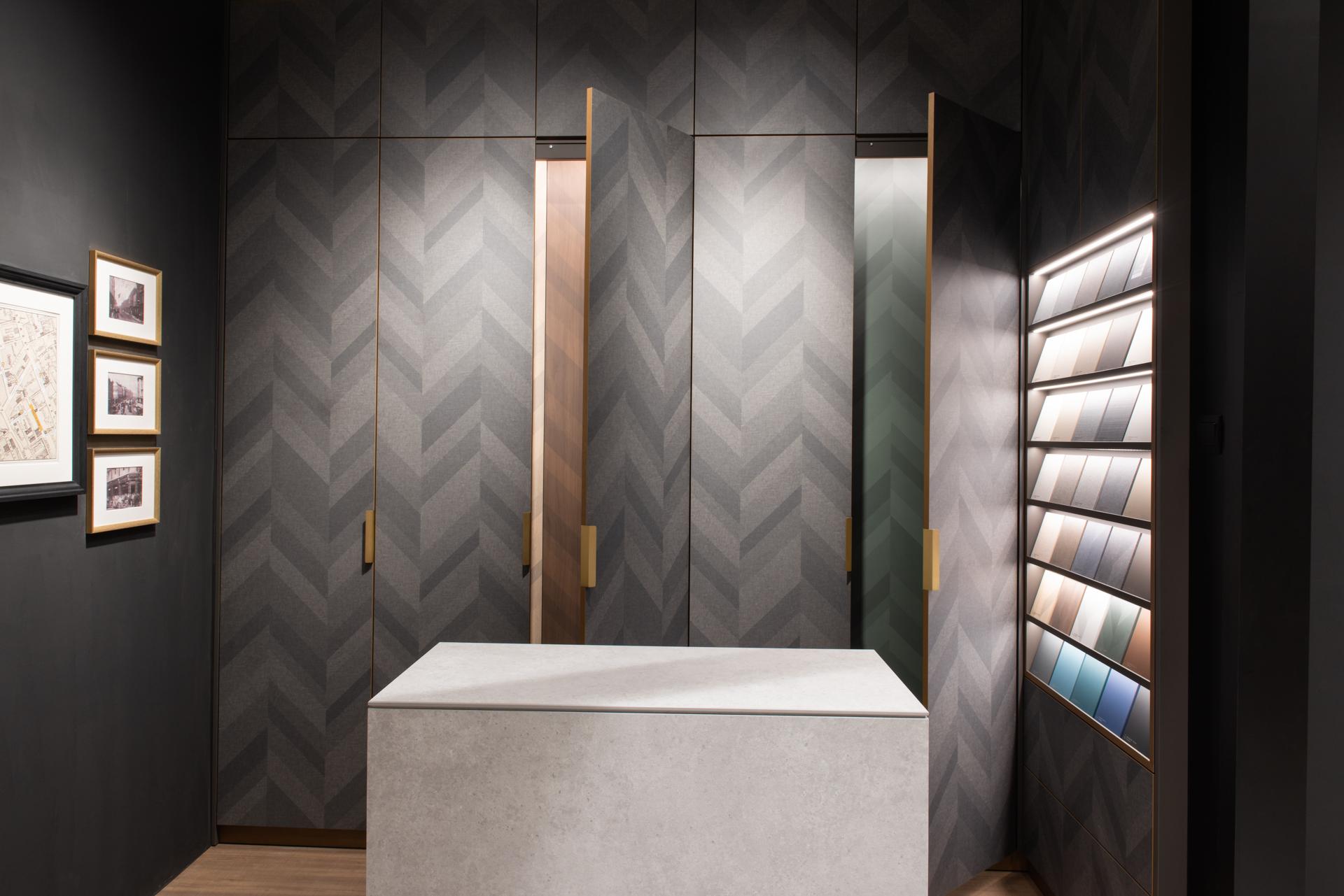 squarerooms lamitak new laminates exclusive collection savile chevron pattern