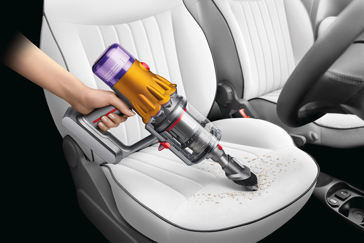 squarerooms dyson v12 detect slim total clean vacuum new launch release appliance cleaning device combinatioon tool car seat cleaning