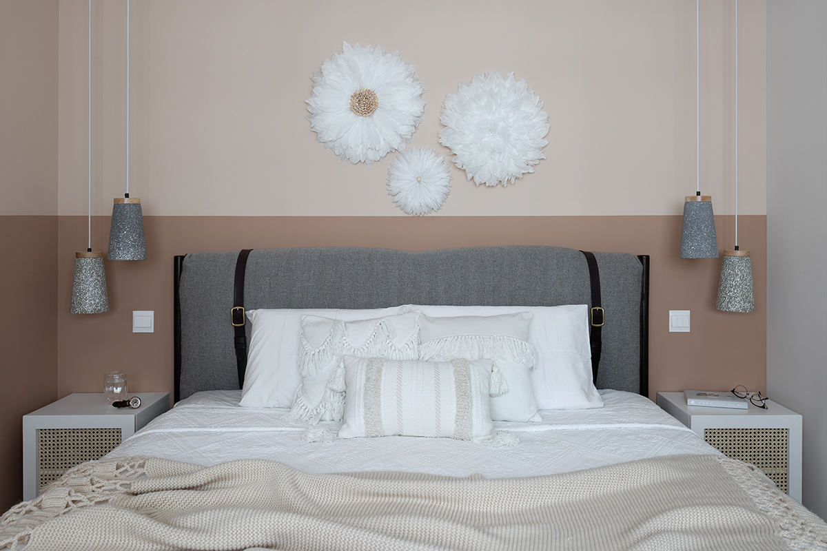 squarerooms abcd home renovation 4 room hdb flat scandi cosy cute pastel pink design makeover bedroom