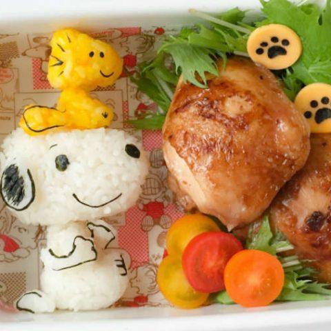 ide menu dan resep bekal sekolah Snoopy