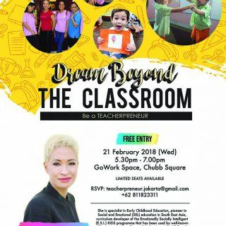 Dream Beyond The Classroom - Be A Teacherpreneur