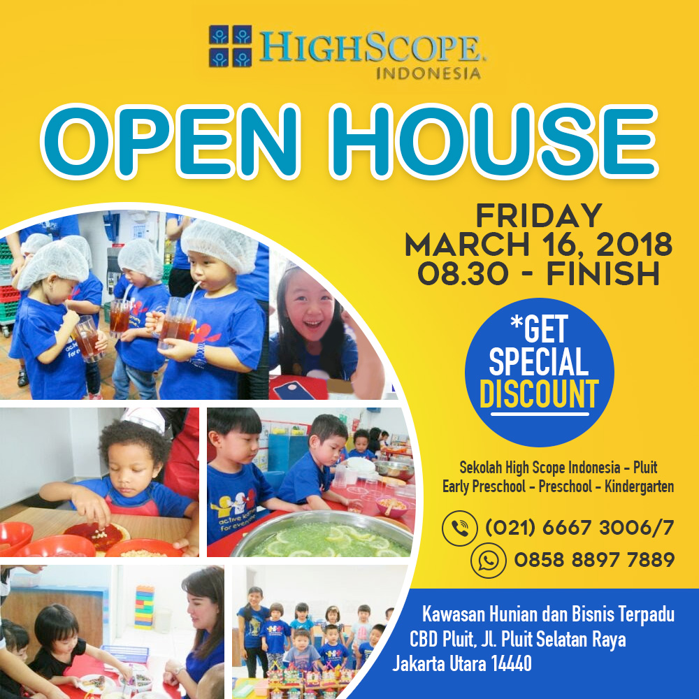 HighScope Pluit Open House 2018