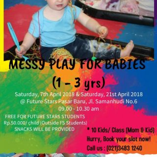 Messy Play For Babies