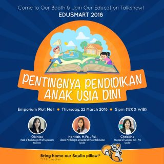 Squlio Talkshow at Edusmart 2018