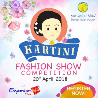 Sunsmile Kids PIK Kartini Day Fashion Show