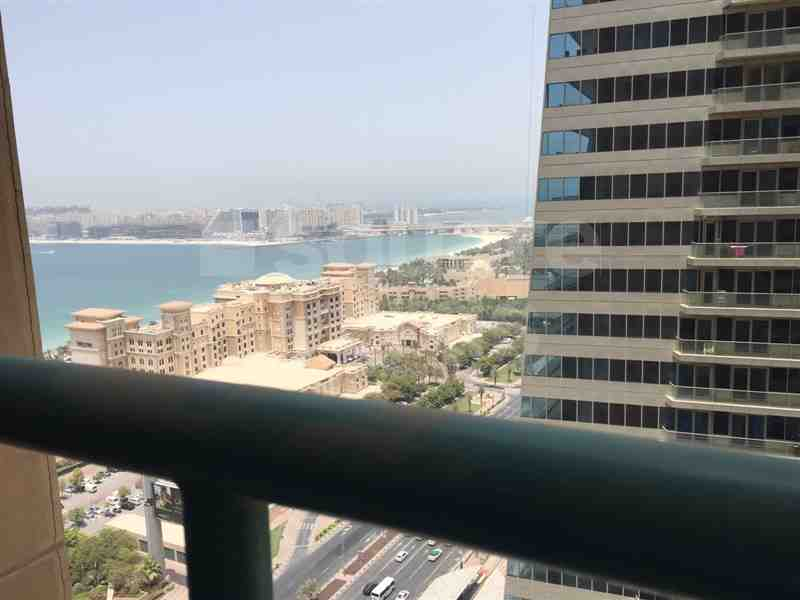 1 Bedroom || Partial Sea View with Balcony For Sale in marina crown