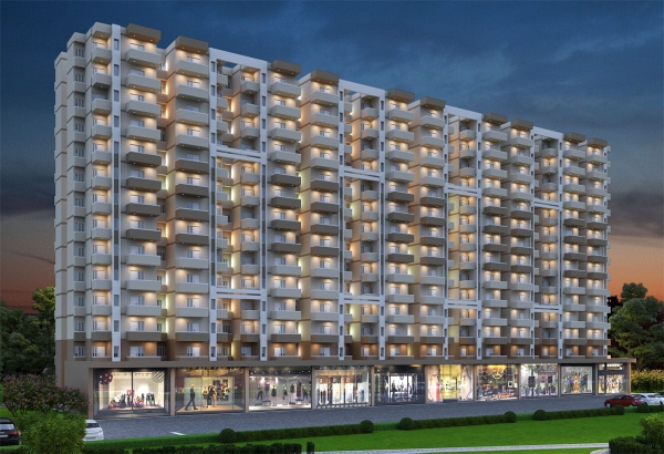 2 BHK 845 Sq.Ft. Apartment in Sarvome Shree Homes