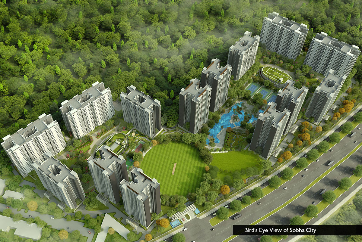 3 BHK 2072 Sq.Ft. Apartment in Sector 108
