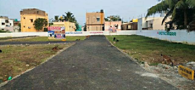 900 Sq.Ft. Plot in Kovur Colony