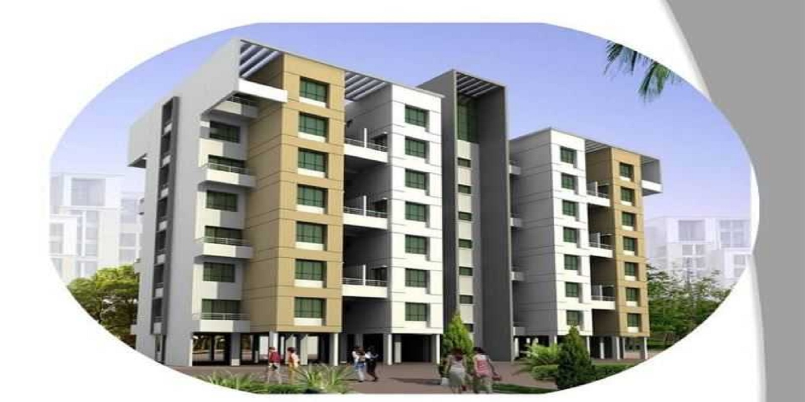 2 BHK 1059 Sq.Ft. Apartment in Shroff Signature Heights