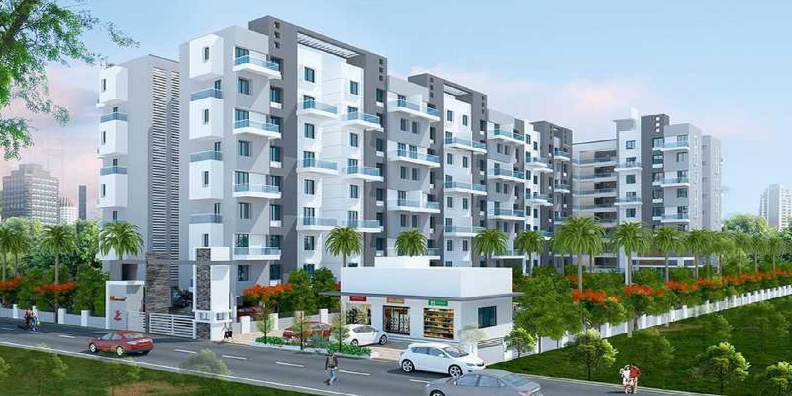2 BHK 1150 Sq.Ft. Apartment in Sancheti Dreamcastle