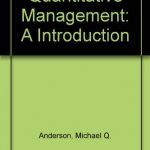 Quantitative Management: An Introduction