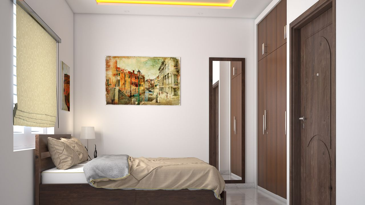 2BHK Complete Home Interiors For Just Rs. 4,99,999 Only.