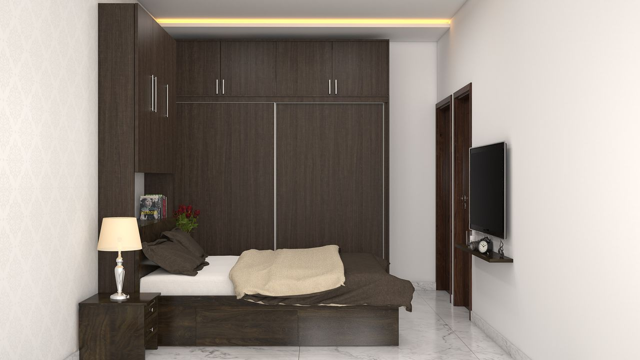 Home Interior Design Offers 2bhk Interior Designing Packages : mbedroom from www.customfurnish.com size 1280 x 720 jpeg 75kB