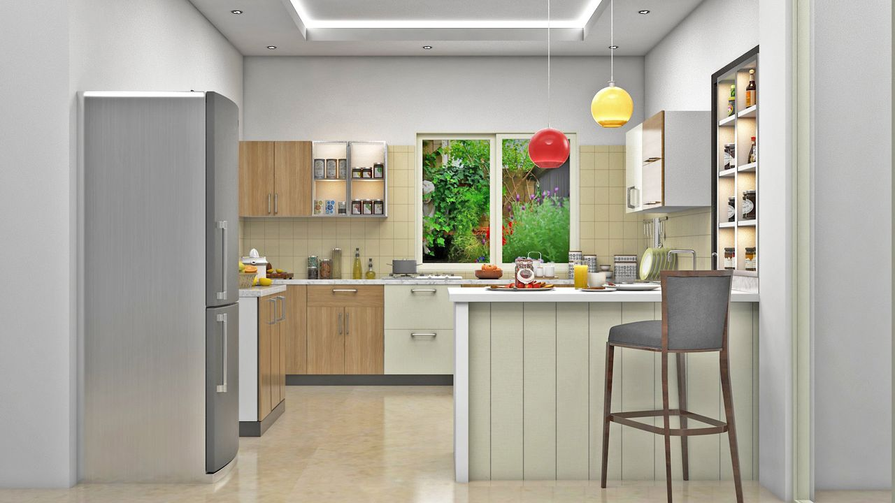 Home interior design offers 3bhk interior designing packages for Sample modular kitchen designs