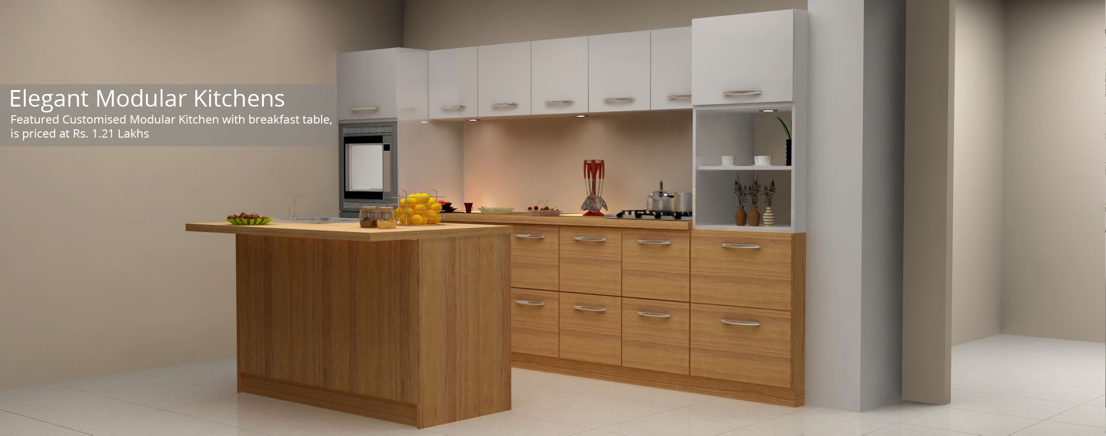 Elegant Modular Kitchen
