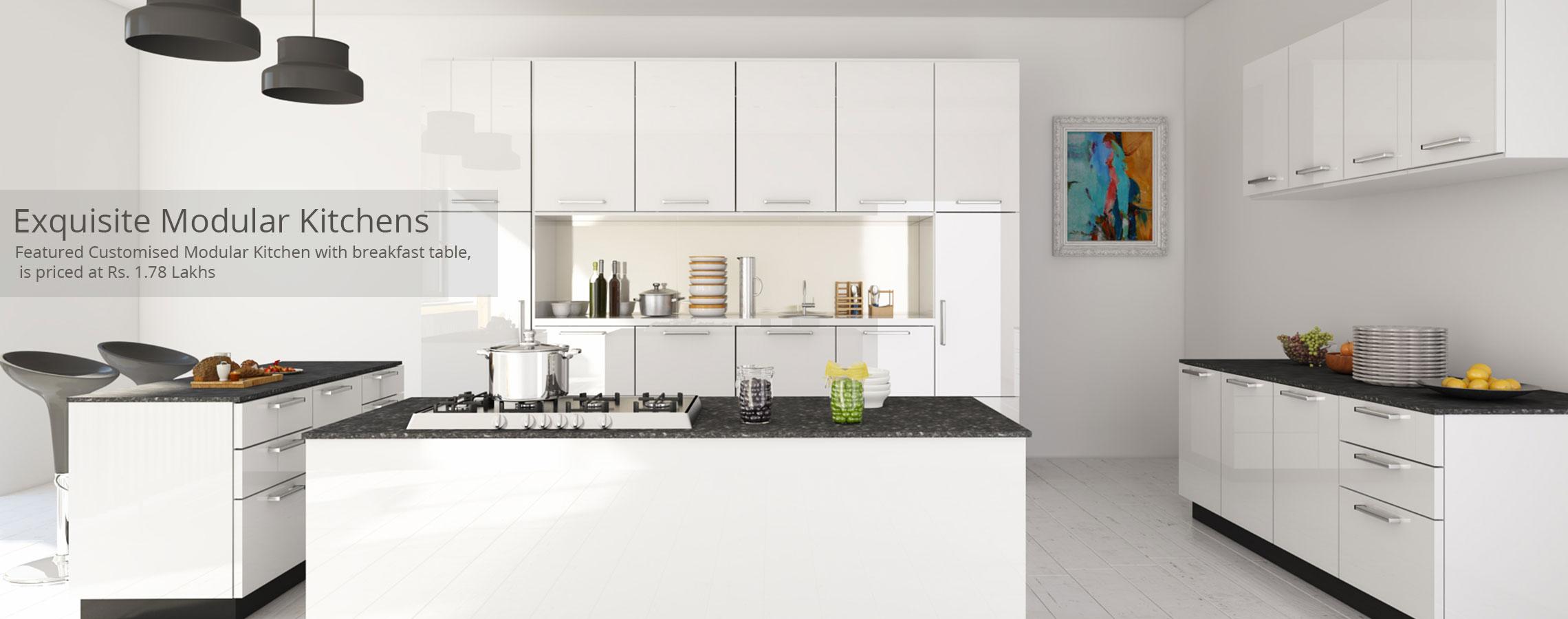 Exquisite Modular Kitchen