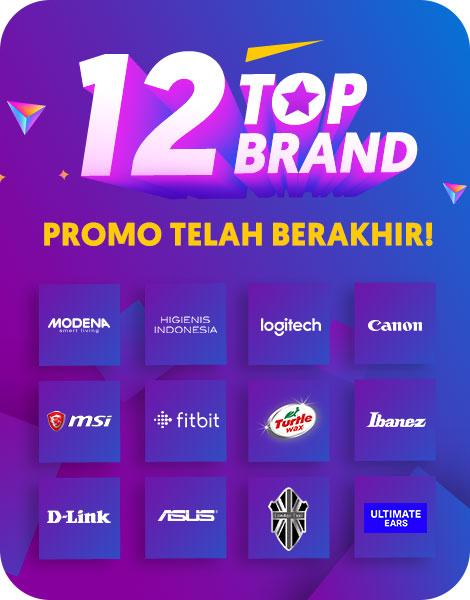 Top Brands Akhir Tahun