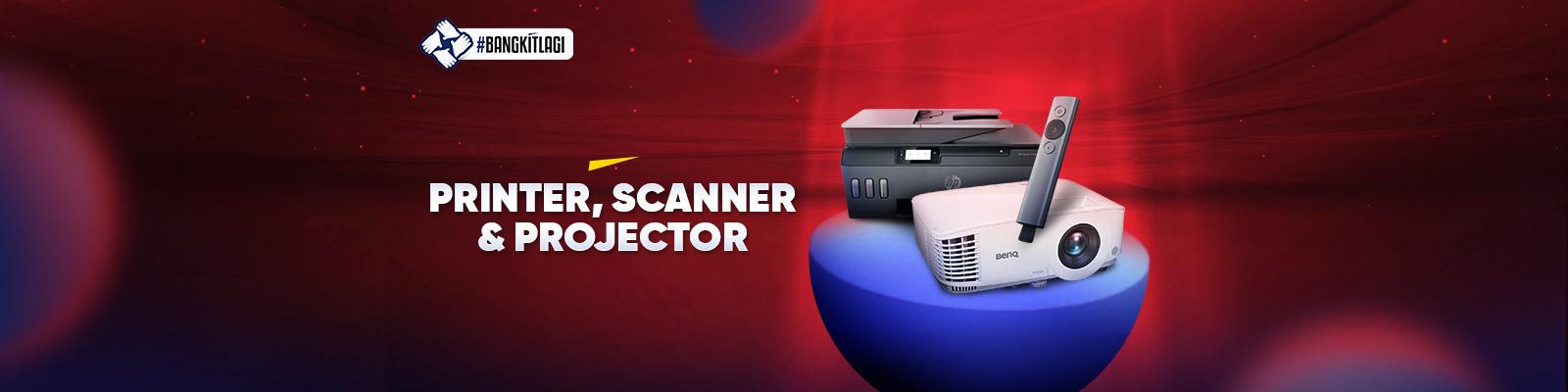 Printer Scanner dan Projektor