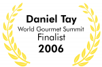 World Gourmet Summit Finalist