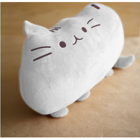 Cat Cushion (Grey)
