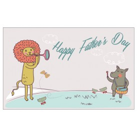 'Happy Father's Day' Personalised Card