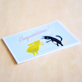 'Congratulations!' Personalised Card