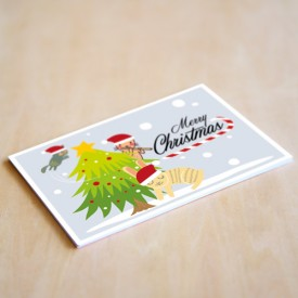 'Merry Christmas' Personalised Card