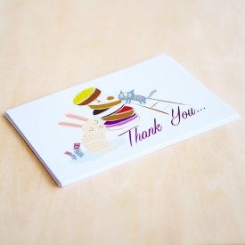 'Thank You' Personalised Card
