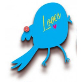 Love Bird Gift Tag