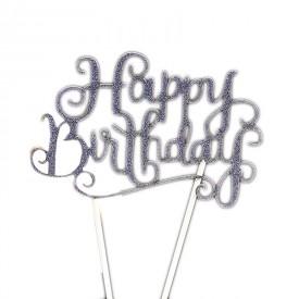 Happy Birthday Stand (Blue)