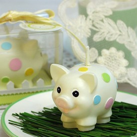Piglet Candle