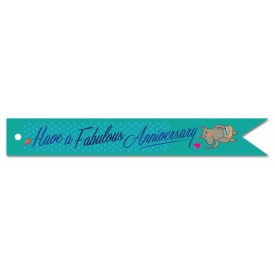 'Fabulous Anniversary' Gift Tag