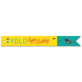 YOLO! Happy Birthday Gift Tag