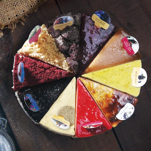 10 Flavor Assorted Variety Cheesecake - Fickle Feline 2.0 | Singapore's Best Birthday Cake Delivery | Cat & the Fiddle