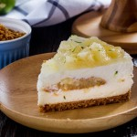 Pineapple Cheesecake - Cat & the Fiddle - Singapore Birthday Cake Delivery - Caribbean Surfari - 1KG