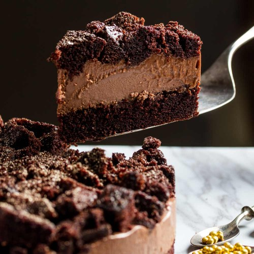 Devil's Chocolate Cheesecake -  Singapore's Best Birthday Cake Delivery | Naughty and Nice | Cat & the Fiddle
