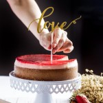 Strawberry Cheesecake - Singapore's Best Birthday Cake Delivery | Queen of Hearts | Cat & the Fiddle