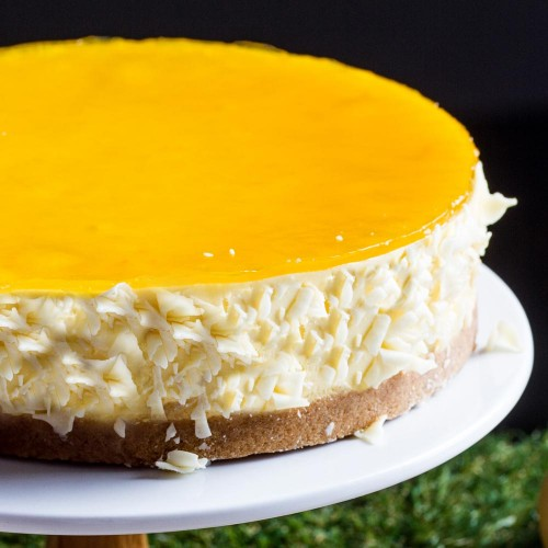 Mango Vodka Cheesecake -  Singapore's Best Birthday Cake Delivery | Russian Whiskers | Cat & the Fiddle