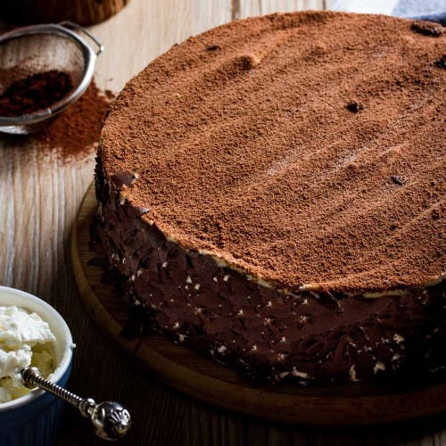 Tiramisu Cheesecake - Singapore's Best Birthday Cake Delivery | Sicilian Wild Cats | Cat & the Fiddle