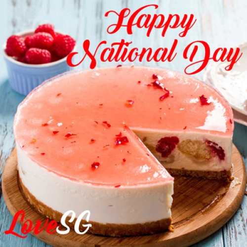 Lychee Martini Cheesecake - Singapore's Best Birthday Cake Delivery | Emperor's Romance | Cat & the Fiddle