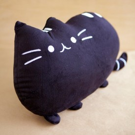 Cat Cushion (Black)