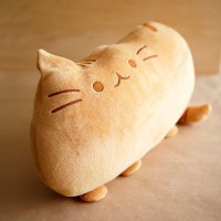 Cat Cushion (Brown)