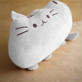 Cat Cushion (Grey)