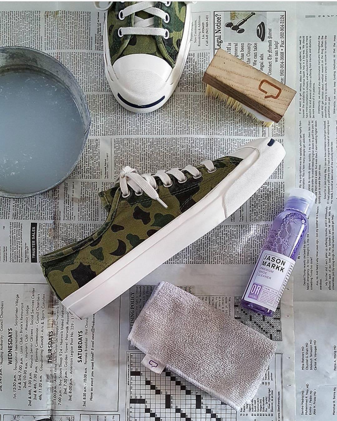 Heramo.com - cách vệ sinh giày vải không bị phai màu - hinh 4