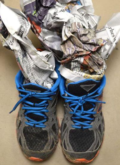 heramo.com- 5 cách làm giày khô siêu nhanh