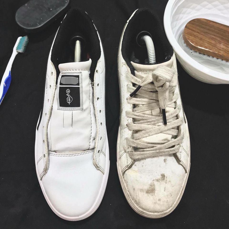 Heramo.com-vệ sinh giày bị ố vàng-hình 4