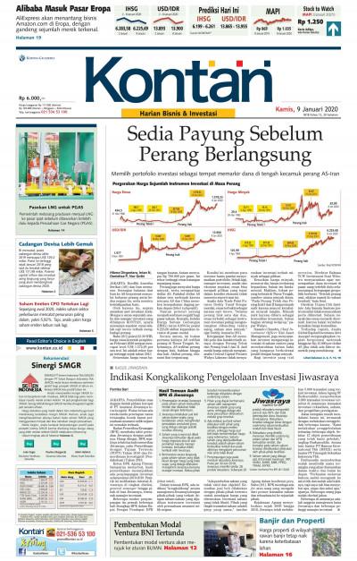 Kontan Harian - 09 Januari 2020
